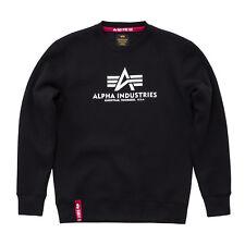 "ALPHA INDUSTRIES Sweatshirt ""Basic"" | Black (17830203) Herren Pullover schwarz"