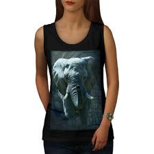 Enorme Elefante caminar mujeres Camiseta sin mangas Nuevo | wellcoda