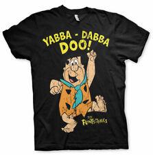 Con Licencia Oficial De Los Picapiedras-Yabba-Dabba-Doo para hombre Camiseta Tallas S-XXL