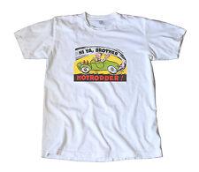 Vintage Hi Ya Brother Hotrodder Decal T-Shirt - Hot Rod, Speed, Gasser, Chevy