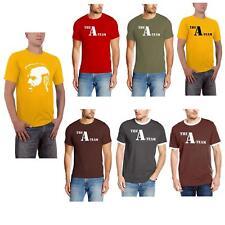 T-Shirt Herren The A-Team Mr. T Baracus FanShirt Oberteil Männer Kurzarm Kurze Ä