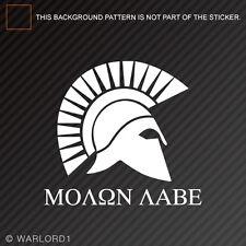 Molon Labe Come and take ThemSticker Vinyl Decal2A second amendment