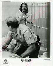 Renegade Press Photo 8X10 Lorenzo Lamas in a fight