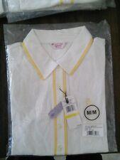 Penguin by Munsingwear Veronica Women's Polo / Golf Shirt Blanco Yellow Cream