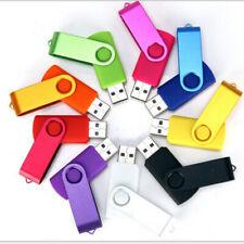 Lot 50PCS pivotant 128/256/512MB USB Flash Drive Memory Stick Random Color Logo