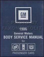 1986 Olds Body Shop Manual 98 88 Cutlass Supreme Ciera Calais Toronado Service