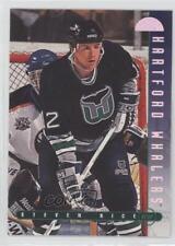 1995-96 Leaf #198 Steven Rice Hartford Whalers Hockey Card