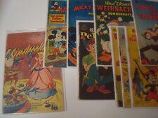 Micky Maus Sonderheft Bereich Nr.1-33 original Heft von 1951 - 1955