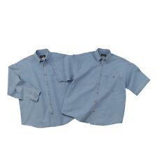 Men's Denim Shirt - Short or Long Sleeve