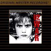 U2- War CD Gold  Mobile Fidelity Sound Lab (MFSL) MASTERED FROM ALTERNATE TAPES