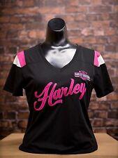 Women's Tombstone HARLEY-DAVIDSON Dealer Embroidered Tee