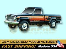 1979 1980 Jeep Honcho J10 Townside Truck Decals & Stripes Kit