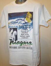 Niagara 50s Film Noir Poster T Shirt Marilyn Monroe Seven Year Itch Bus Stop 265