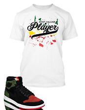 MVP Tee shirt To match Air Jordan 1 Retro High Flyknit BHM Shoe ProClub Big Tall