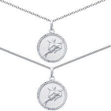 Pendentif Médaille Zodiaque SAGITAIRE ARGENT + CHAINE