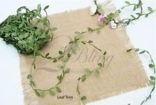 1m Leaf Garland trim, DIY Flower crown supplies, Newborn Flower girl accessories