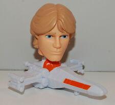 2008 Luke Skywalker #11 Bobble Head Toy McDonald's Star Wars Clone Bobblehead