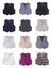 NEW BLUESKYKIDSLAND NEW Boys kids 100/% cotton vest v beck in navy size 6//9m 12
