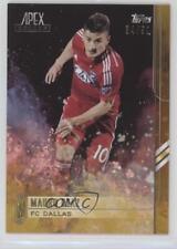 2015 Topps Apex Gold #88 Mauro Diaz FC Dallas Soccer Card