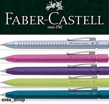 Faber-Castell GRIP 2011 Druckbleistift pink violett limette blau petrol silber