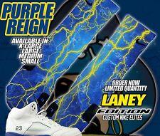 NIKE AIR RETRO JORDAN LANEY Custom Nike Elite Socks (ALL SZ) Maize-Varsity 2013