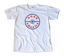 Road America Race Track Vintage Decal T-Shirt - Elkhart Lake, Sports Car