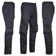 Arbeitshose Multifunktion Cargo Bundhose schwarz Freizeit Berufskleidung
