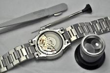 Reloj Seiko Kinetic Condensador y/o servicio de reparación de actualización de reemplazo de cristal