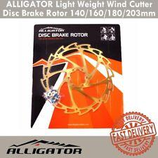 ALLIGATOR Light Weight Wind Cutter Disc Brake Rotor 140/160/180/203mm - Titanium