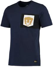Nike Club Universidad Nacional Pumas Graphic Pocket Logo shirt futbol men UNAM