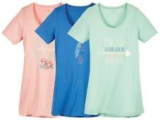 (R39) ESMARA Lingerie Damen Bigshirt Nachthemd T-Shirt Shirt NEU