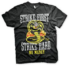 Officially Licensed Karate Kid - Cobra Kai No Mercy Men's T-Shirt S-XXL Sizes