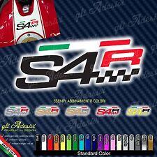 Adesivo S4R S4 R serbatoio Ducati Monster e bandiera tricolore italia