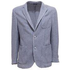 6235Q giacca uomo SARTORIALE blu/bianco jacket men