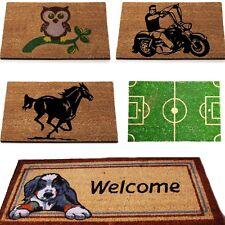 Beautiful New Style Natural Coir Non Slip Floor Entrance Door Mat Dog Doormat