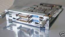 Cisco wic-2a/s wan Interface Card Dual-serial port