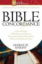 Quicknotes Bible Concordance (QuickNotes Commentaries)