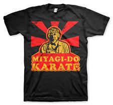 Mister Miyagi Do Karate Kid Dojo 80s Retro Männer Men T-Shirt Schwarz Black