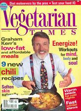 Vegetarian Times 1996 Graham Kerr Hearty Stews Chili