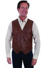 Scully Men's Vintage Lamb Leather Vest 1035