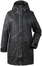 Didriksons Outdoorjacke Regenschutz Ulla Women's Coat 3 schwarz winddicht