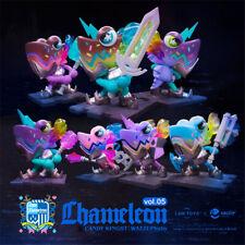 WAZZUP Chameleon Soldier Cute Art Designer Toy Figurine Display Pop Figure Gift