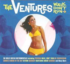 THE VENTURES WALK DON'T RUN - 2 CD BOX SET - GUITAR INSTRUMENTALS