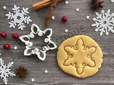 Snowflake Xmas Cookie Cutter 04 | Christmas | Fondant Cake Decorating | UK