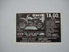 advertising Pubblicità 1977 MOTO BETA 250 CROSS