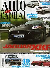 AUTO CAPITAL 10 / 11 MORGAN JAGUAR XKR LAMBORGHINI BENTLEY DODGE MUSTANG SHELBY