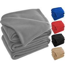 Fleece Blanket Soft & Warm Polar Single Double King Sofa Bed Throw Travel Car