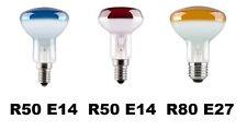 GE Spot réflecteur coloré E14 / E27 R50 / R80 Jaune / Rouge / Bleu
