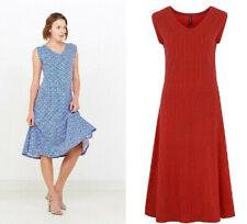 Tranquillo Kleid rot blau Biobaumwolle Organic Cotton Ilexa rouge navy S18E7
