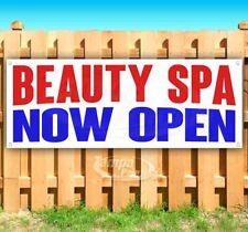 "/""SPA/"" super flag banner advertising sign beauty salon massage facial hair"